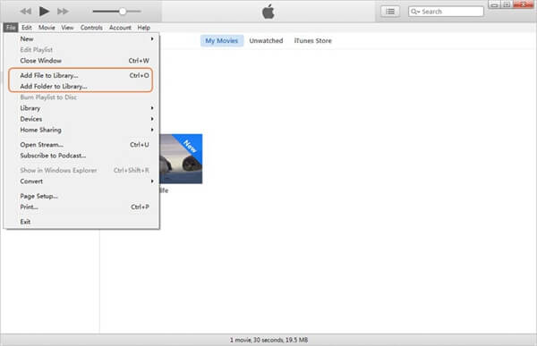 Transfer the YouTube Video to iTunes