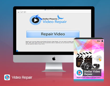Buy Stellar Phoenix Video Repair for Mac