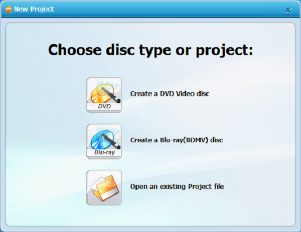 Run Wondershare DVD Creator