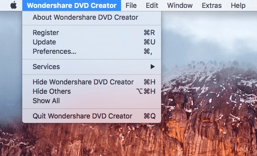 Register DVD Creator for Mac