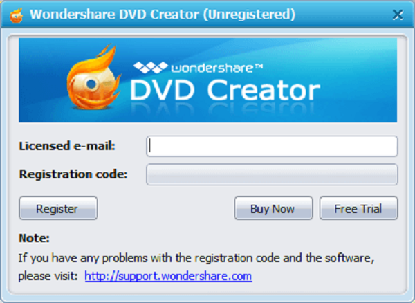 download wondershare dvd creator + serial