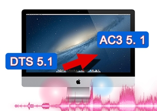 Convert MKV DTS Soundtrack to AC3