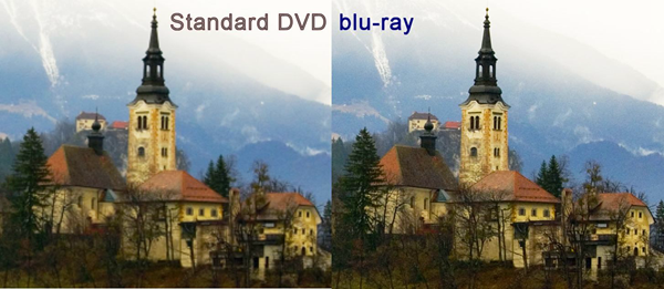 DVD VS Blu-ray Quality