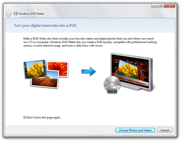 Window DVD Maker