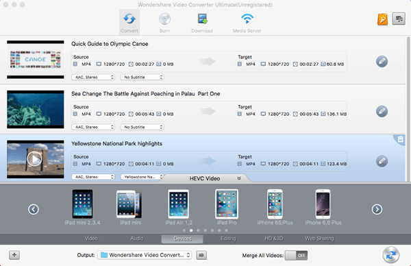 Select iPhone 6s Format Mac