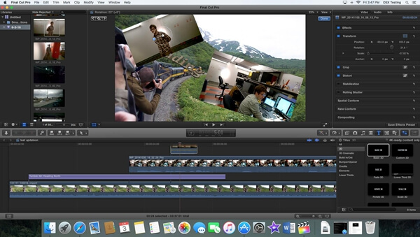 Top 6 Video Editing Software for Mac [Review & Free Download]